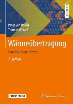 Wärmeübertragung - Böckh, Peter von; Wetzel, Thomas
