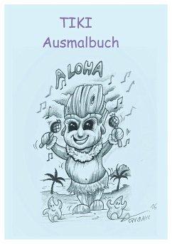 Tiki Ausmalbuch - Peters, Armin