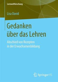 Gedanken über das Lehren - David, Lisa