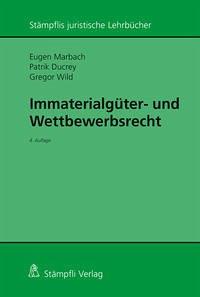 Immaterialgüter- und Wettbewerbsrecht