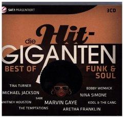 Die Hit Giganten Best Of Funk & Soul - Diverse