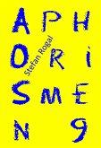 Aphorismen 9 (eBook, ePUB)