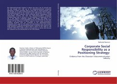 Corporate Social Responsibility as a Positioning Strategy: