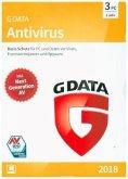 G Data AntiVirus 2018 3 PC, 1 CD-ROM