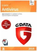 G Data AntiVirus 2018 1 PC, 1 CD-ROM