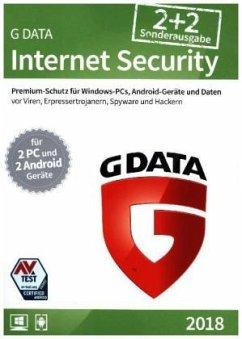Koch Media; G-Data G Data InternetSecurity 2018 2+2, 1 CD-ROM