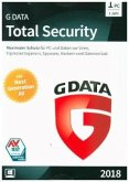 G Data Total Security 2018 1 PC, 1 CD-ROM