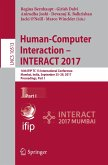 Human-Computer Interaction - INTERACT 2017 - Part I