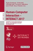 Human-Computer Interaction - INTERACT 2017 - Part III
