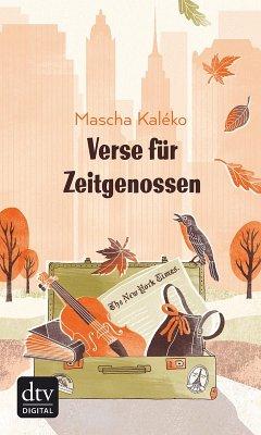 Verse für Zeitgenossen (eBook, ePUB) - Kaléko, Mascha