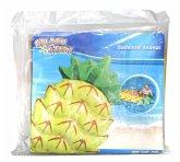 Splash & Fun Badeinsel Ananas, 154 x 88 x 21 cm