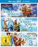 Die Schneekönigin 1-3 Box (Blu-ray 3D, 3 Discs)