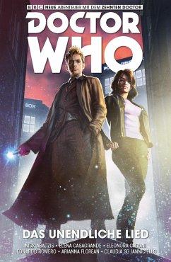 Das unendliche Lied / Doctor Who - Der zehnte Doktor Bd.4 (eBook, PDF) - Abadzis, Nick
