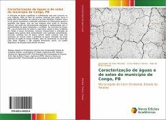 Caracterização de águas e de solos do município de Congo, PB