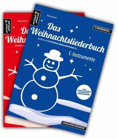 Das Weihnachtsliederbuch-Set (C-Instrumente + Klavierbegleitung), 2 Bde. - Koch, Michael