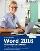 Word 2016 Profiwissen für Anwender (eBook, PDF)