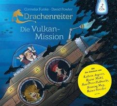 Drachenreiter - Die Vulkan-Mission, 2 Audio-CDs - Funke, Cornelia