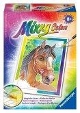 Pferdeportrait / Mixxy Colors, Bildgröße 8,5 x 12 cm