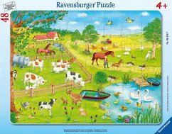 Spaziergang auf dem Land (Kinderpuzzle)