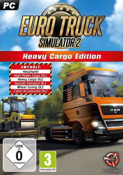 euro truck simulator 2 heavy cargo edition games. Black Bedroom Furniture Sets. Home Design Ideas
