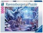 Ravensburger 19704 - Winterwölfe Puzzle, 1000 Teile