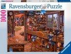 Ravensburger 19790 - Opas Schuppen, Puzzle, 1000 Teile