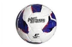 New Sports Fußball Größe 5,PU,handgenäht,unau