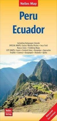 Nelles Map Landkarte Peru - Ecuador