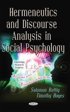Hermeneutics & Discourse Analysis in Social Psychology
