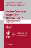 Human-Computer Interaction - INTERACT 2017 - Part IV