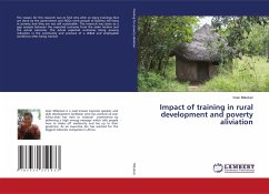 Impact of training in rural development and poverty aliviation