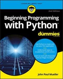 Beginning Programming with Python For Dummies - Mueller, John Paul