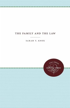 The Family and the Law