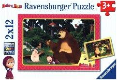 Mascha und der Bär - Spaß im Wald (Kinderpuzzle)