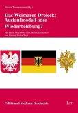 Das Weimarer Dreieck: Auslaufmodell oder Wiederbelebung?