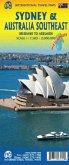 International Travel Map ITM Sidney & Australia Southeast
