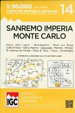 Wanderkarte 14 San Remo