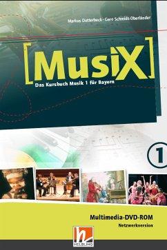 5./6. Schuljahr, Multimedia DVD-ROM (Netzwerkversion) / Musix - Das Kursbuch Musik, Ausgabe Bayern 1