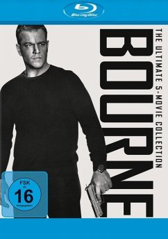 Bourne - The Ultimate 5-Movie-Collection BLU-RAY Box - Matt Damon,Franka Potente,Chris Cooper