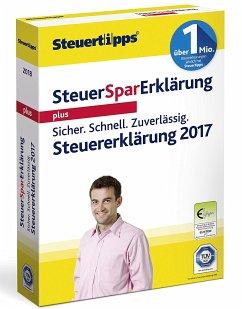 Steuer-Spar-Erklärung Plus 2018 (für Steuerjahr 2017)