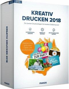 FRANZIS Kreativ Drucken 2018