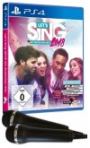 Let's Sing 2018 mit deutschen Hits - 2 Mirkrofone Bundle (PlayStation 4)