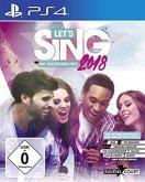 Let's Sing 2018 mit Deutschen Hits (PlayStation 4)