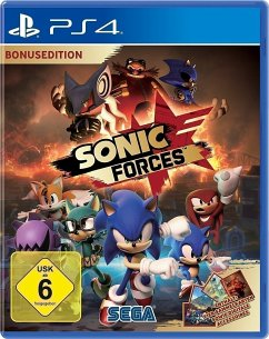 Sonic Forces Day One Edition (PlayStation 4)