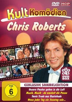 Kultkomödien mit Chris Roberts (4DVD-Box: Unser...