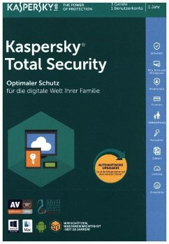 Kaspersky Total Security (FFP), (1 Code in a Box)