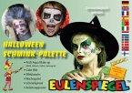 Karnevalsschminke Halloween-Palette