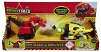 DINOTRUX Motorized Pull Back Action TY RUX & REVVIT
