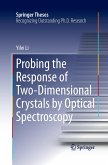 Probing the Response of Two-Dimensional Crystals by Optical Spectroscopy