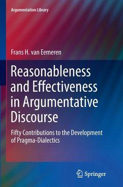 Reasonableness and Effectiveness in Argumentative Discourse - van Eemeren, Frans H.